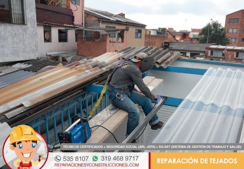 Reparaci n e instalaci n de tejados cubiertas y marquesinas arreglo - Tejados y cubiertas ...