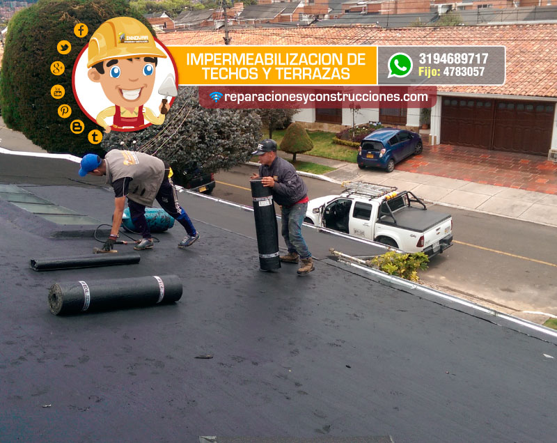 Servicio De Impermeabilización En Bogotá Instalación De