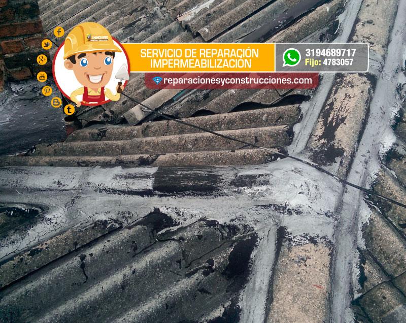 Servicio de impermeabilizaci n en bogot instalaci n de impermeabilizantes - Impermeabilizacion de tejados ...