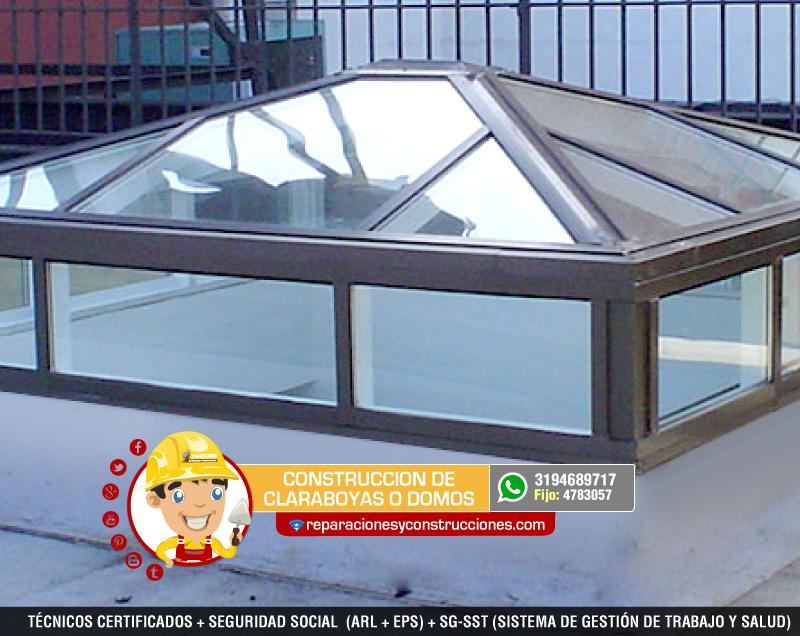 Instalaci n de domos y claraboyas para tejados o cubiertas - Tragaluces para tejados ...