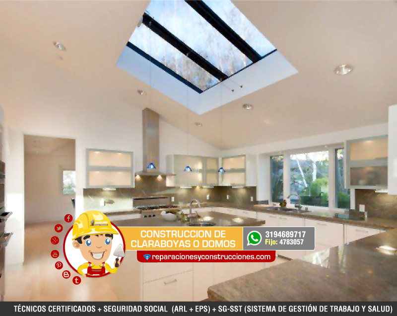 Instalaci n de domos y claraboyas para tejados o cubiertas - Claraboyas para tejados ...