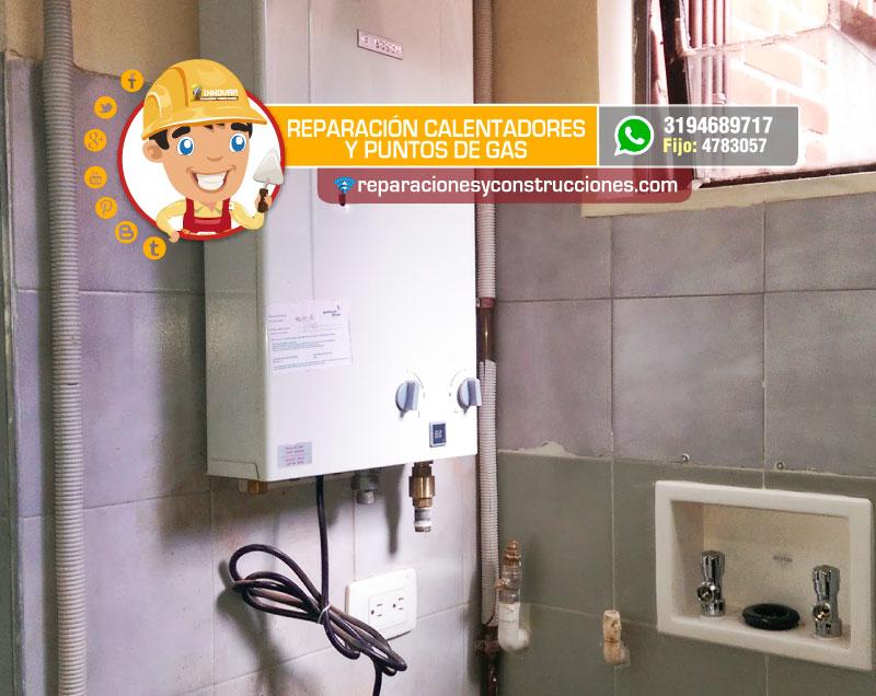 Reparaci n y mantenimiento de gasodom sticos instalaci n for Instalacion calentador gas