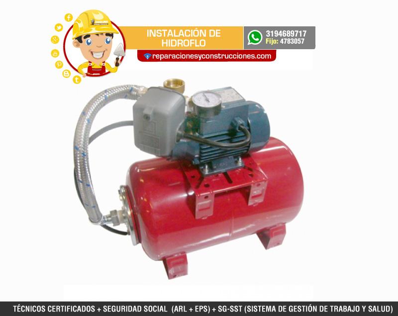 Instalaci n de hidroflo o bombas de presi n de agua - Bomba presion agua ...