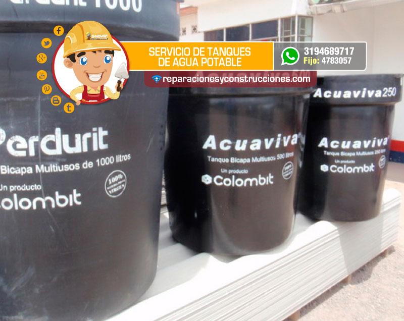 Instalaci n de tanques de agua potable mantenimiento de for Como fabricar tanques de agua para rusticos
